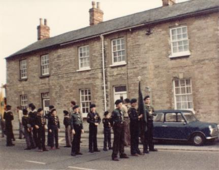 1983ish parade in Mill Street