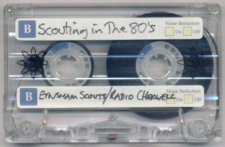 Scouting In The 80's tape