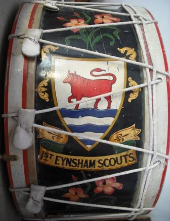 1st Eynsham Boys Scouts Band Bass Drum